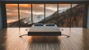 A Clean Minimalist Bedroom
