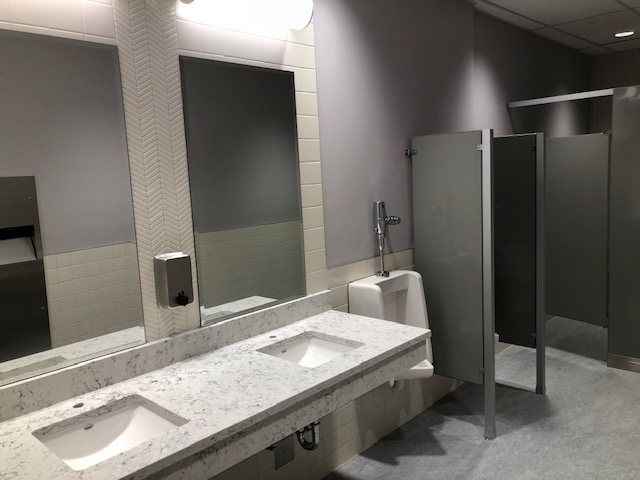 Post Construction Washroom Cleaning