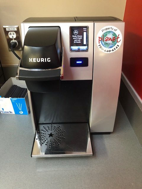 Commercial Building Coffee Maker Cleaning