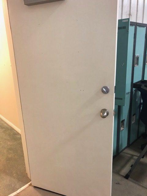 Office Door Cleaning