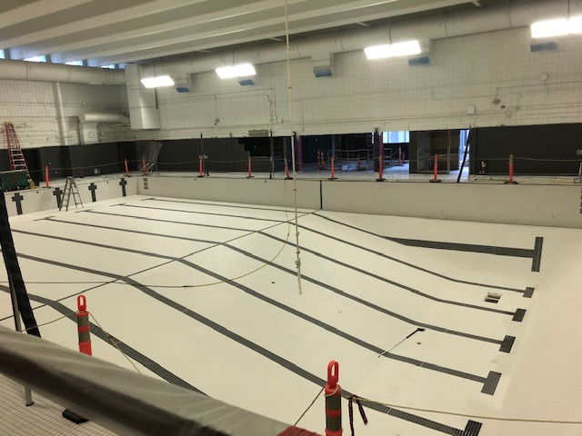 bonnie doon pool post construction clean